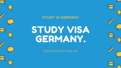 Photo of Germany Study VISA – German Student VISA Process