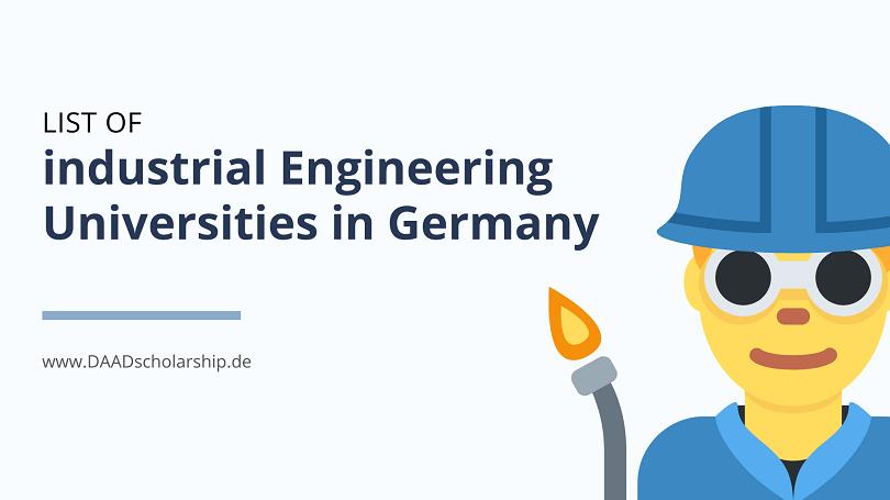List of Industrial Engineering Universities in Germany