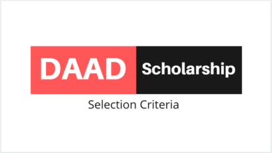 Photo of Acceptance letter for DAAD Scholarships in 2021-2022