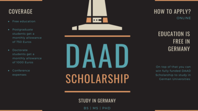 Photo of DAAD Scholarships 2021-2022 – Call for Applications