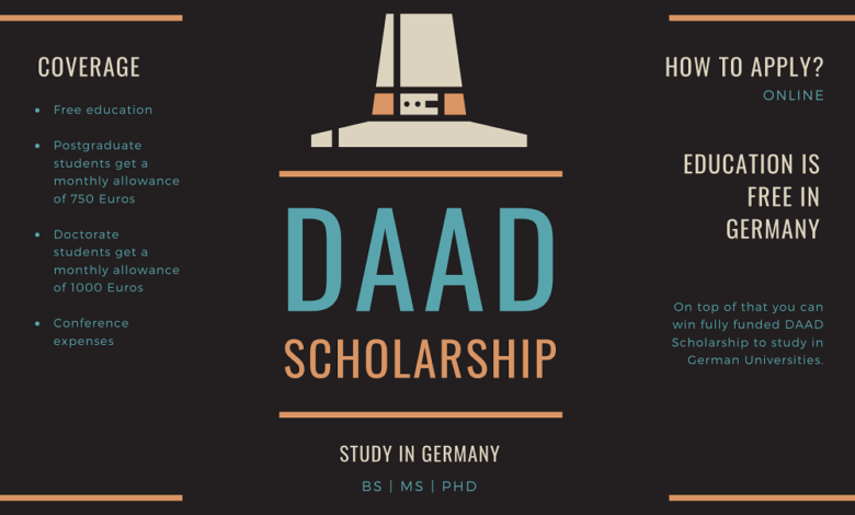 Photo of DAAD Scholarship 2021-2022 – Call for Applications