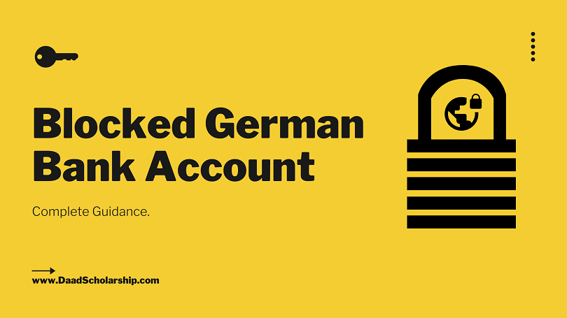 German Blocked Bank Account (Sperrkonto) for Foreign Students