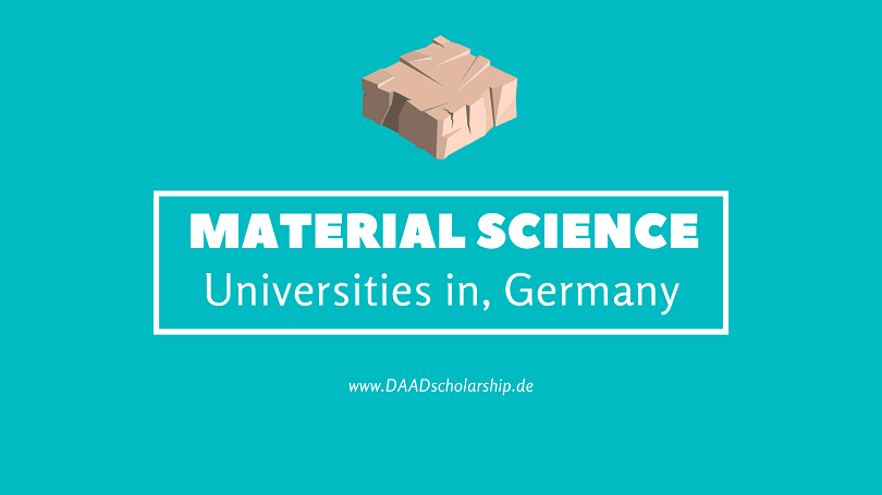 List of Top Ranked and Best Material Science and material engineering Universities in Germany