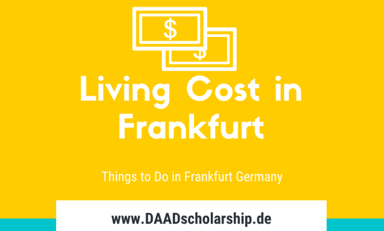 Photo of Living Cost, Sight Seeing and Things to do in Frankfurt