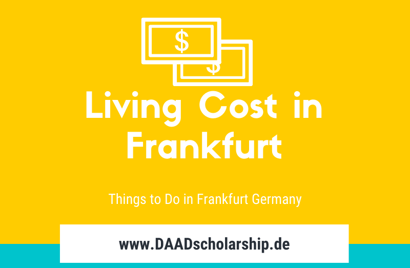 Living Cost, Sight Seeing and Things to do in Frankfurt