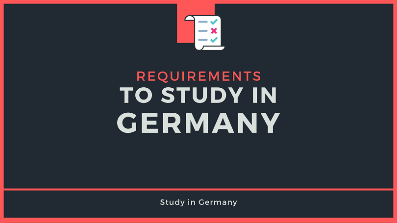 Requirements to Study in Germany