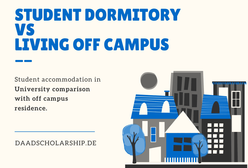 Student Dormitory VS Living Off campus