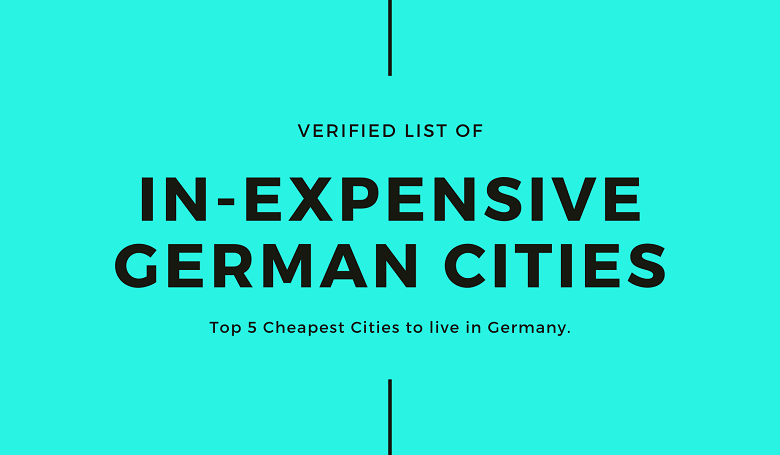 Photo of Top 5 Cheapest Cities to live in Germany