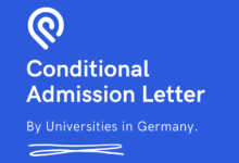 Photo of Conditional Admission Letter by Universities – Study in Germany