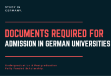 Photo of Documents required for Germany Scholarship & University Admissions in 2021-2022