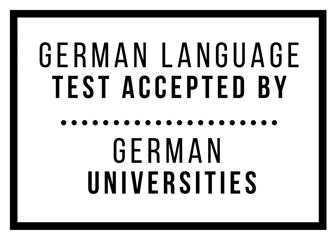German Language Tests Accepted by German Universities