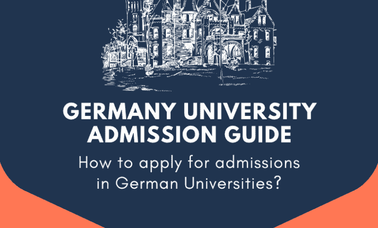 Photo of Admission Process in Germany University 2021-2022