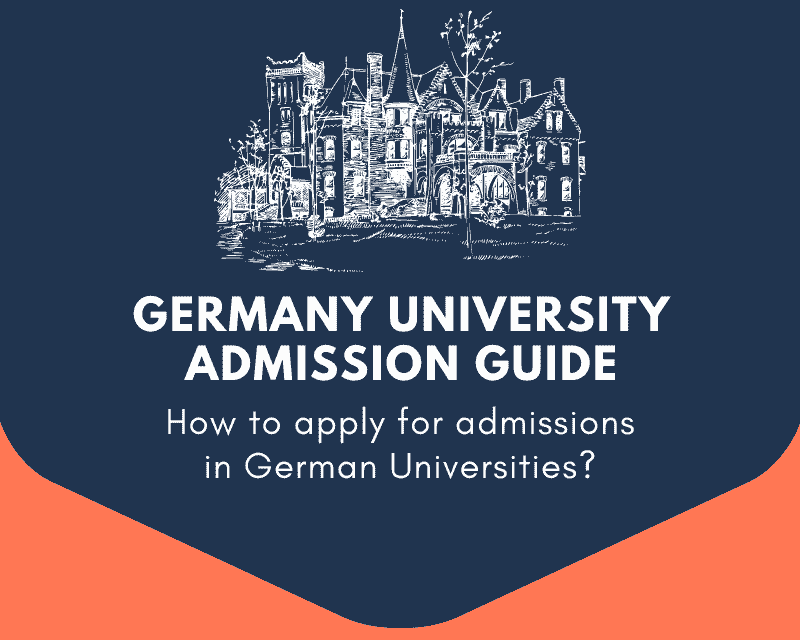 How to apply for admissions into German Universities