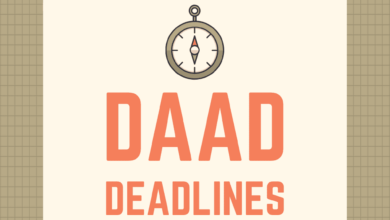 Photo of DAAD Scholarships Application Deadlines 2021-2022