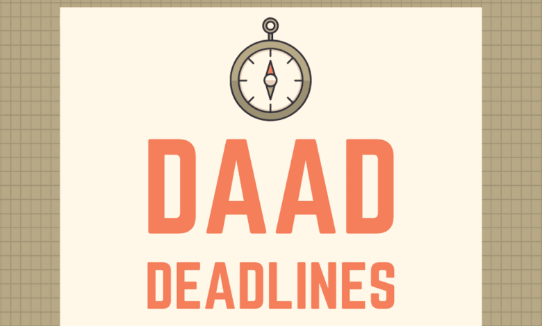 Photo of DAAD Scholarship Application Deadlines 2021-2022