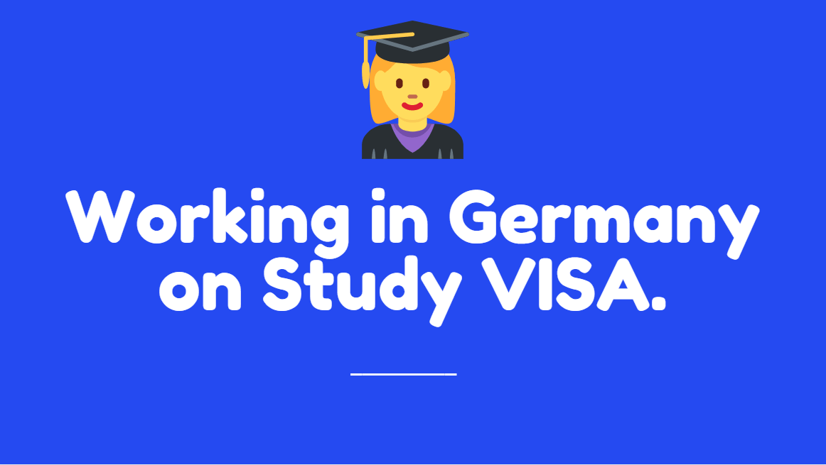 Working in Hamburg on German Student VISA