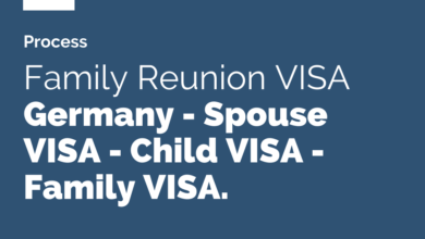 Photo of Inviting Family Member to Germany on Family Reunion, Spouse or Child VISA