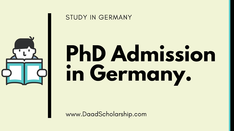 Ph.D. Admission Criteria of German Universities for international students