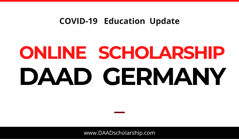 Photo of Online Scholarships by DAAD Germany for International Students: COVID-19 Scholarship Update